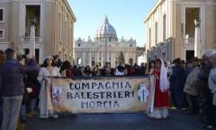 Balestrieri di Norcia a Roma
